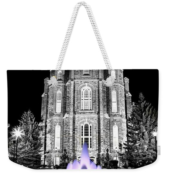Temple Fountain  Weekender Tote Bag