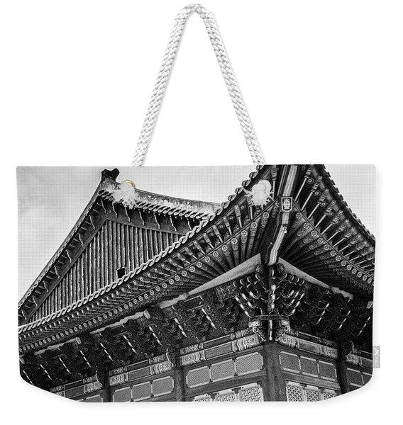 Temple In South Korea Weekender Tote Bag