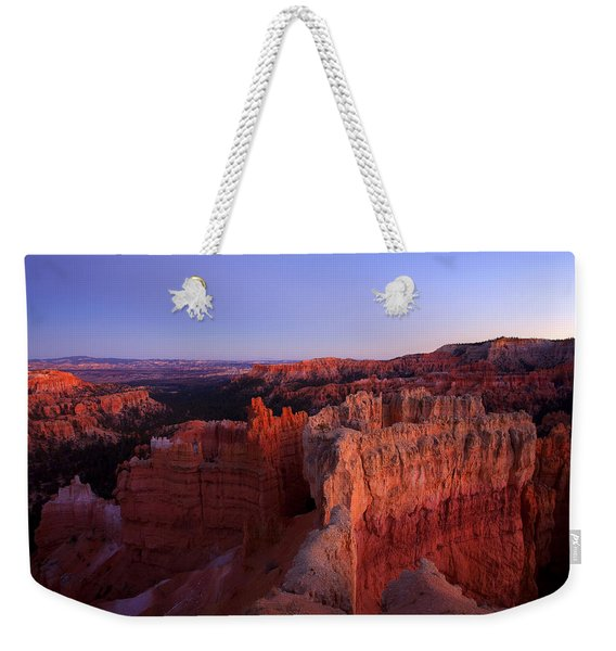 Temple Of The Setting Sun Weekender Tote Bag