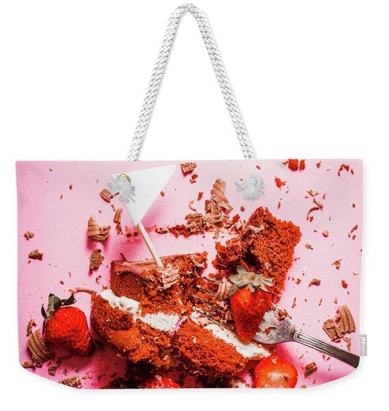 Temptation Surrender  Weekender Tote Bag