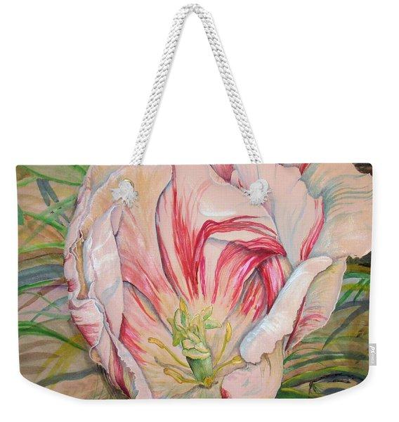 Tempting  Tulip Weekender Tote Bag