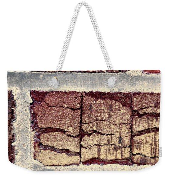 Tender Bricks Weekender Tote Bag