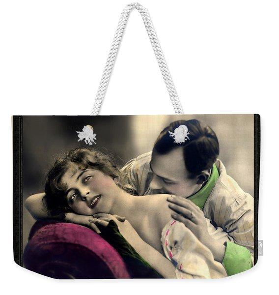 Tender Kisses Weekender Tote Bag