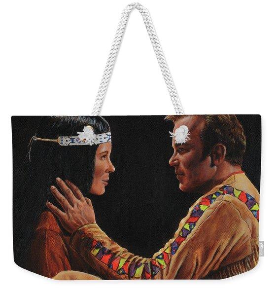 Tenderness In His Touch Weekender Tote Bag