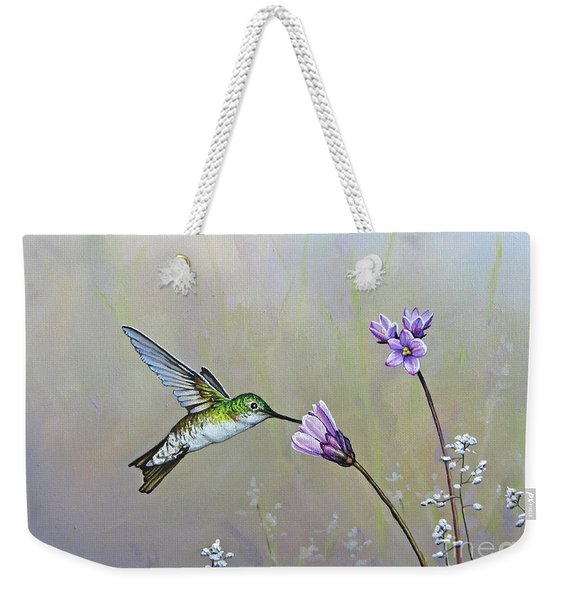 Tending The Garden Weekender Tote Bag