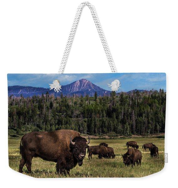 Tending The Herd Weekender Tote Bag