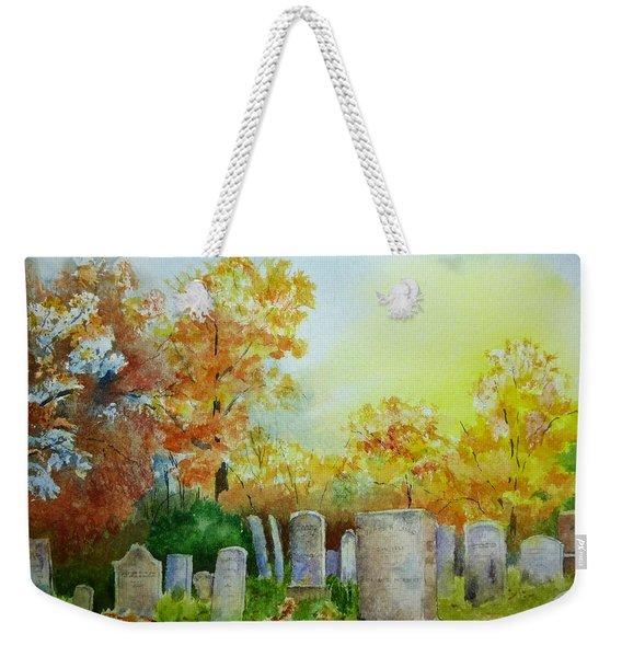 Tennant Cemetery New Jersey Weekender Tote Bag
