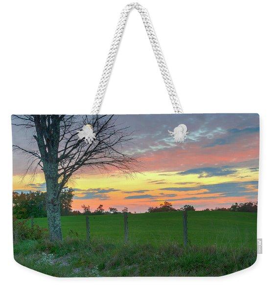 Tennessee Sunset Weekender Tote Bag