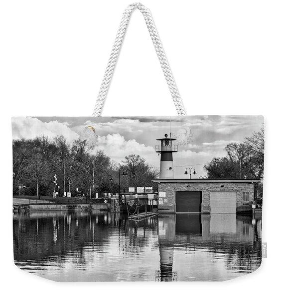 Tenney Lock 3 - Madison - Wisconsin Weekender Tote Bag