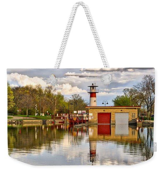 Tenney Lock - Madison - Wisconsin Weekender Tote Bag