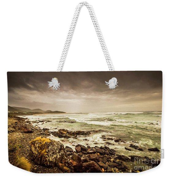 Tense Seas Weekender Tote Bag