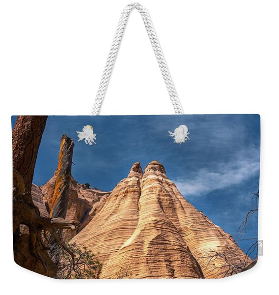 Tent Rock And Ponderosa Pine Weekender Tote Bag