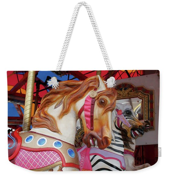 Tented Carousel Weekender Tote Bag