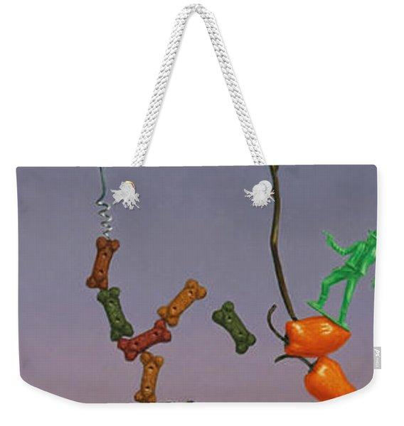 Tenuous Still-life 3 Weekender Tote Bag