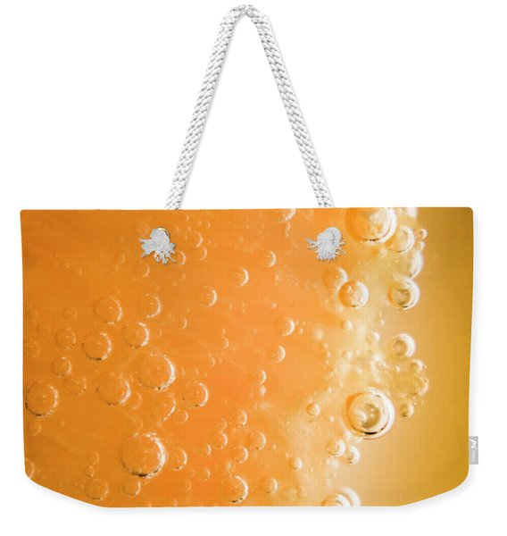 Tequila Sunrise Background Weekender Tote Bag