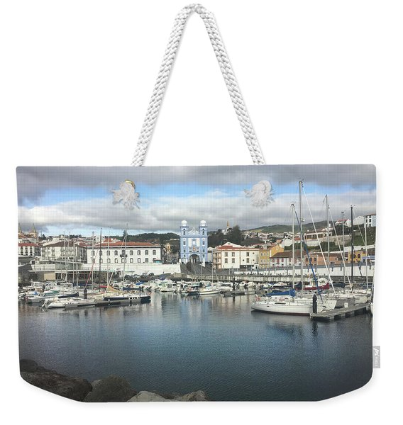 Terceira Port And Angra Do Heroismo Weekender Tote Bag