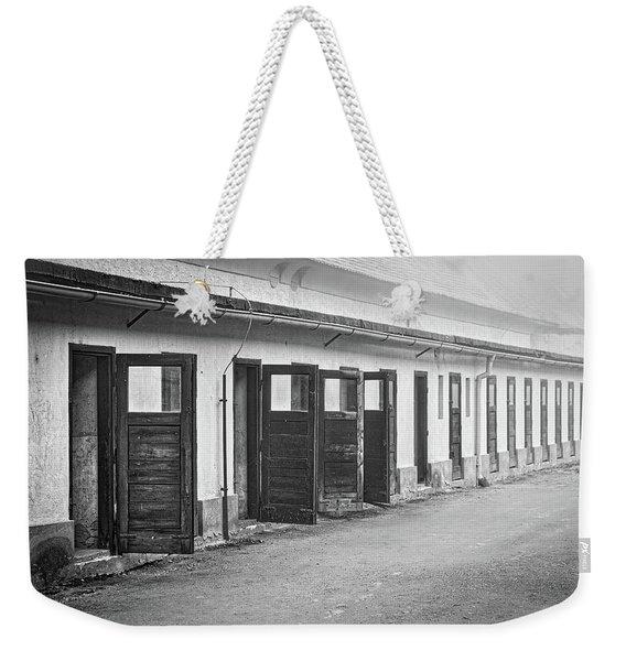 Terezin Cell Block Doors Weekender Tote Bag