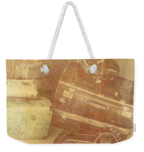 Terminal Goodbye Weekender Tote Bag