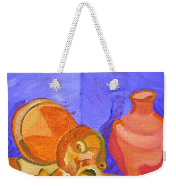 Terra Cotta Weekender Tote Bag