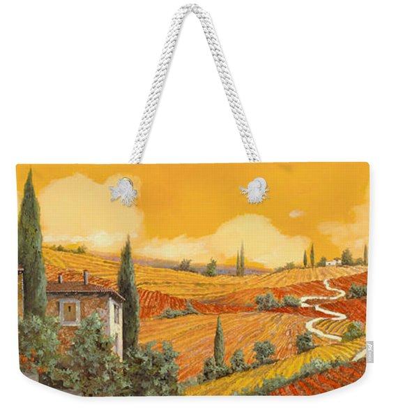 terra di Siena Weekender Tote Bag