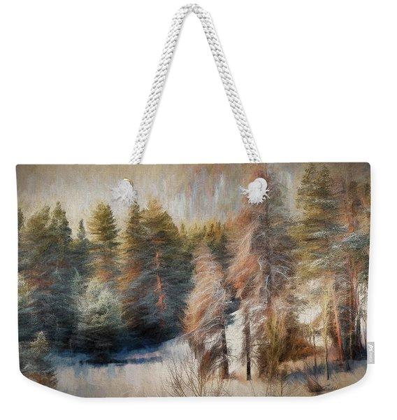 Terra Incognita Weekender Tote Bag