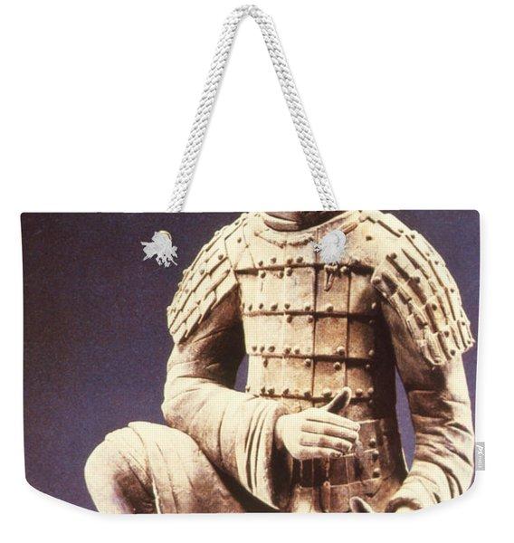 Terracotta Soldier Weekender Tote Bag