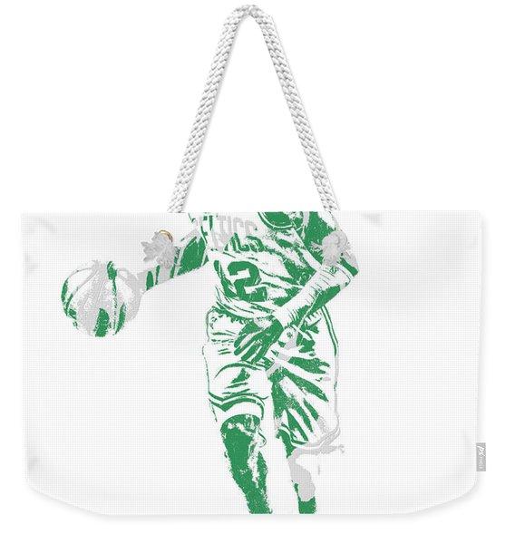 Terry Rozier Boston Celtics Pixel Art 10 Weekender Tote Bag