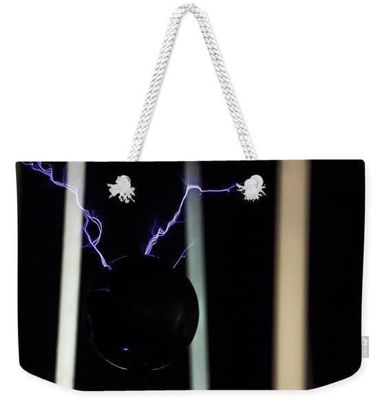 Tesla Coil 5 Weekender Tote Bag