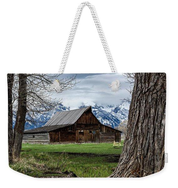 Teton Barn #1 Weekender Tote Bag