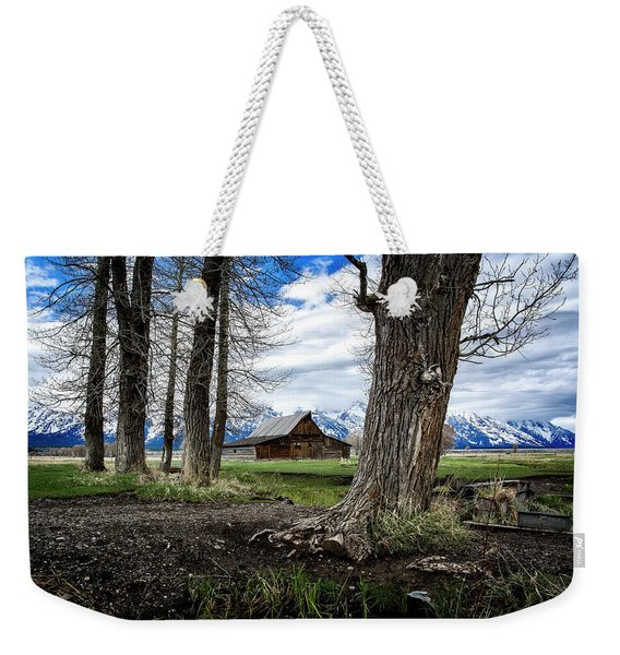 View From Mormon Row Weekender Tote Bag