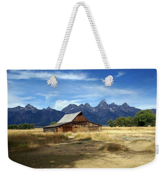 Teton Barn 3 Weekender Tote Bag