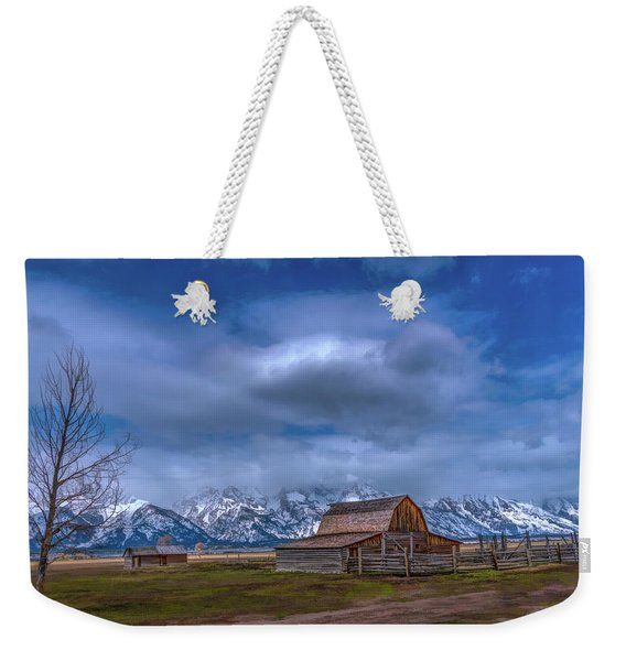Teton National Park Mormon Row Weekender Tote Bag