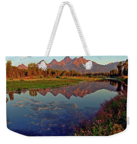 Teton Wildflowers Weekender Tote Bag