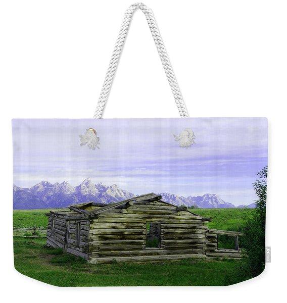 Tetons From The Shane Barn Weekender Tote Bag