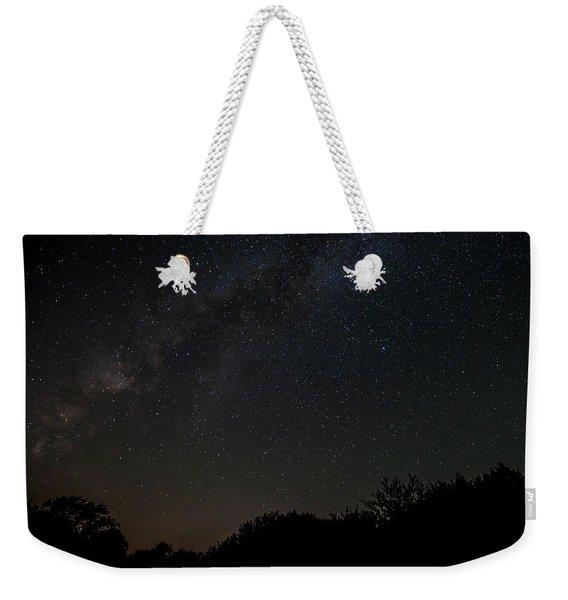 Texas At Night Weekender Tote Bag