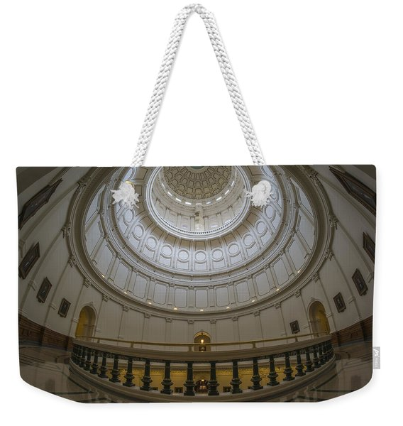 Texas Capitol Dome Wide Angle Weekender Tote Bag