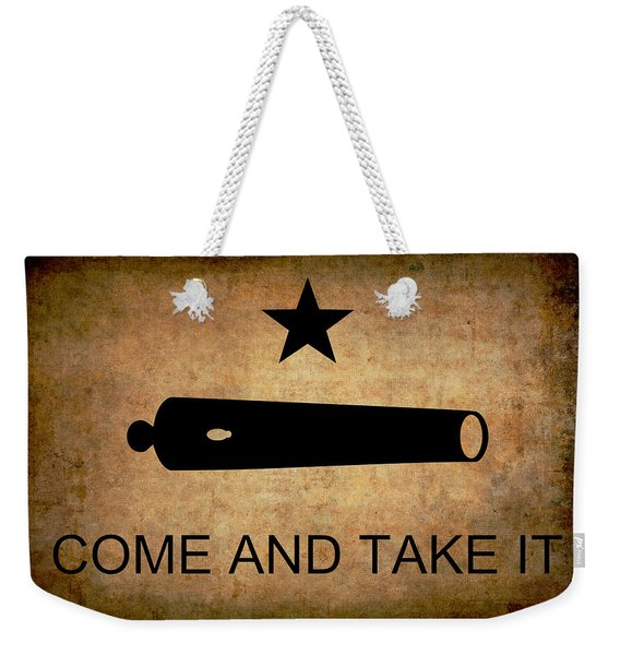 Texas Come And Take It Flag  1835 Weekender Tote Bag