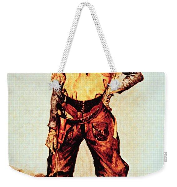 Texas Cowboy Weekender Tote Bag
