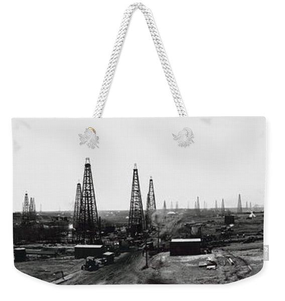 Texas Crude 1919 Weekender Tote Bag