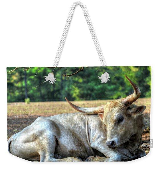 Texas Longhorn Gentle Giant Weekender Tote Bag