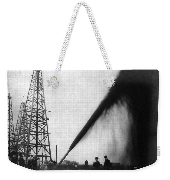 Texas: Oil Derrick, C1901 Weekender Tote Bag