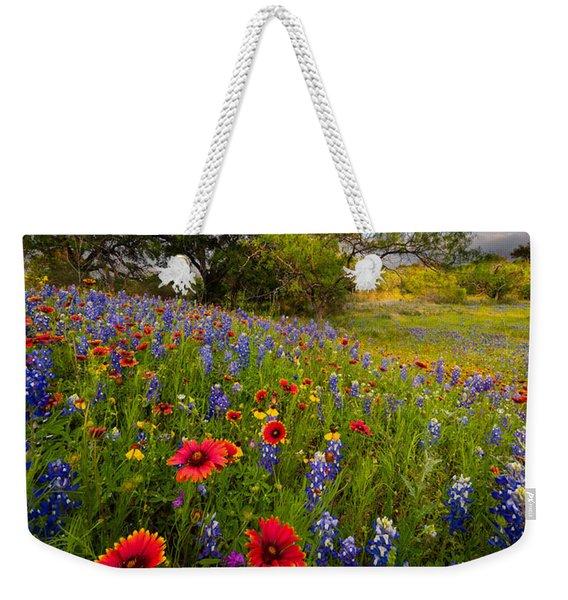 Texas Paradise Weekender Tote Bag