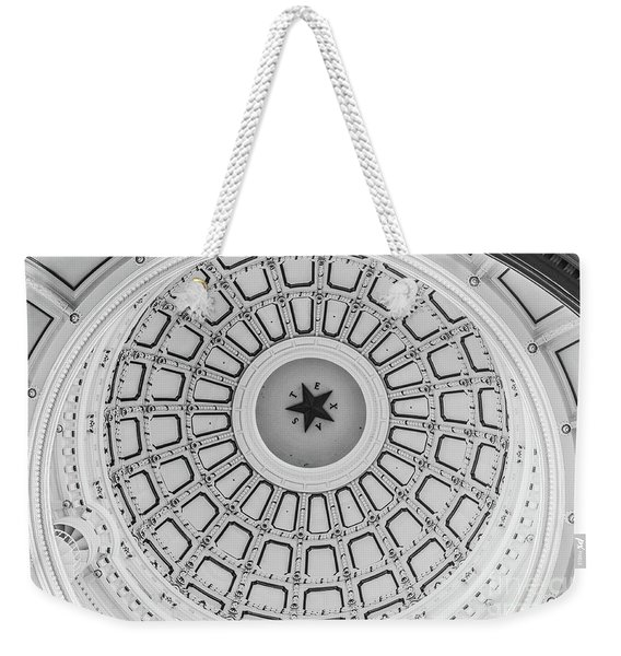 Texas State Capitol Dome Weekender Tote Bag