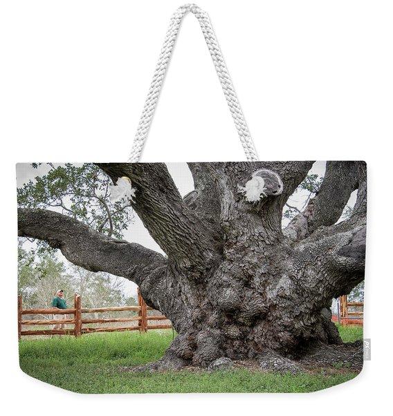 Texas State Champion Live Oak Weekender Tote Bag