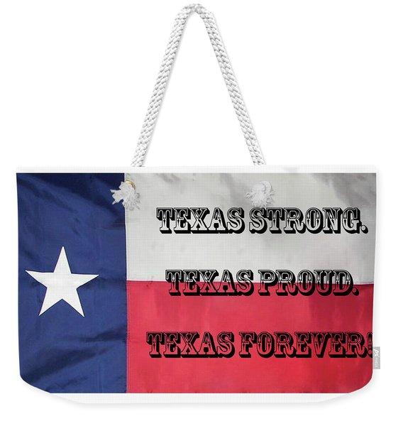 Texas Strong Weekender Tote Bag