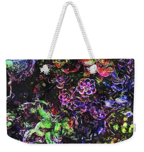 Textural Garden Plants Weekender Tote Bag