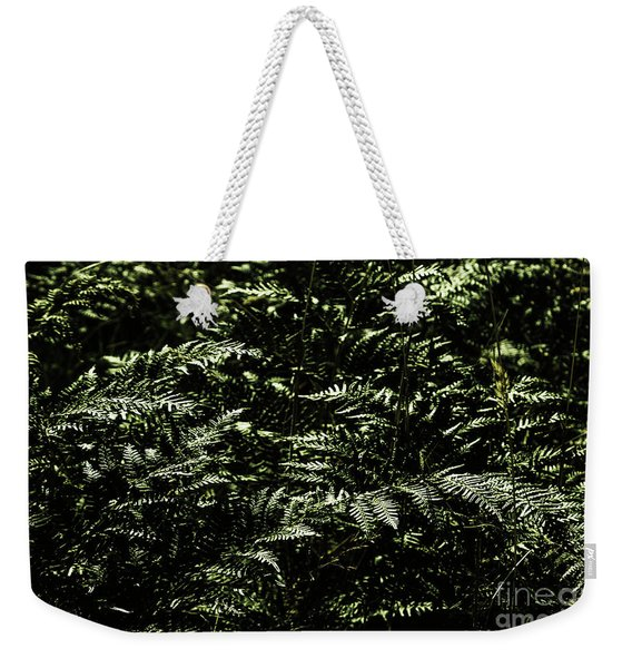 Textures Of A Rainforest Weekender Tote Bag