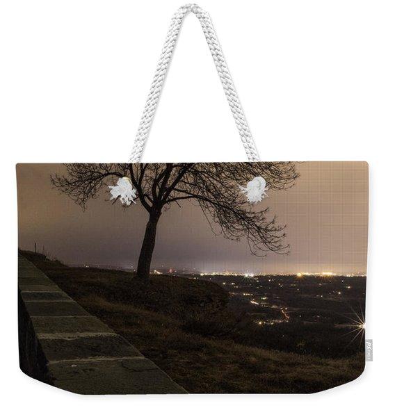 Thacher Park Twilight Weekender Tote Bag