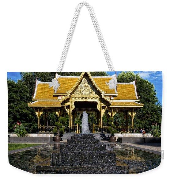 Thai Pavilion - Madison - Wisconsin Weekender Tote Bag