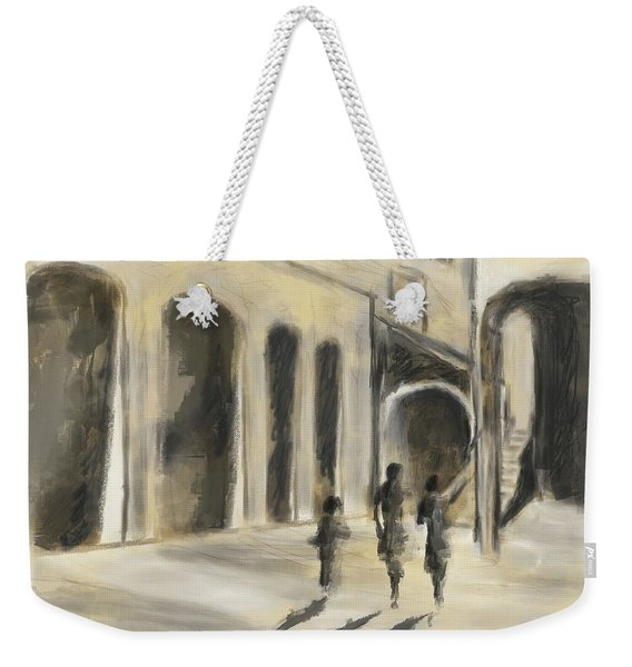 That Old House Weekender Tote Bag